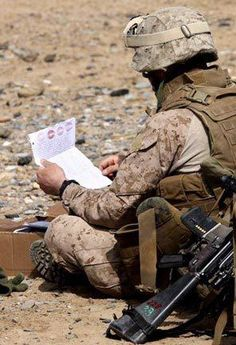 There are organizations that you can go through that will set you up with one Soldier that you can support through their whole deployment time! Soldiers' Angels (Official) is a good place to go! Or if you just want to send letters to Random Heroes, you can go through Operation: Letters From Home :)
