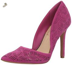Jessica Simpson Women's Charie Pump, Polished Pink, 10 Medium US - Jessica simpson pumps for women (*Amazon Partner-Link)