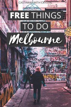 Tour Melbourne's cultural sights for FREE! 10 Vibrant Free Things to do in Melbourne, Australia Australia Tourism, Australia Travel Guide, Taipei, Street Art Graffiti, Queen Victoria Market, Road Trip, New Zealand Travel, Camping Car, Free Things To Do