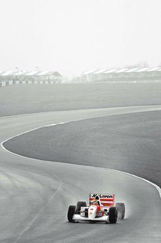 Ayrton Senna   McLaren Honda 1993   Donington Park