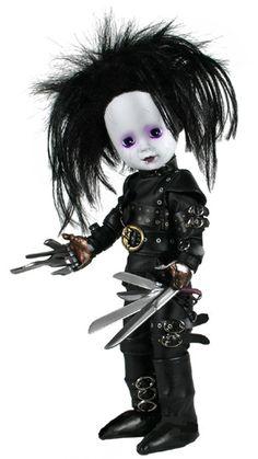 I found 'Edward Scissorhands Living Dead Doll on Wish, check it out! Creepy Baby Dolls, Badass Drawings, Living Dead Dolls, Horror Decor, Scary Art, Edward Scissorhands, Gothic Dolls, Valley Of The Dolls, Halloween Doll