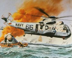 Roy Cross - Sea King SH-3D                                                                                                                                                                                 More