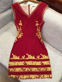 New Arrival 2016 Women's Ladies' V Neck Sleeveless Embroidery Sexy Sheer Patchwork High Street Fashion Pencil Dresses -in Dresses from Women's Clothing & Accessories on Aliexpress.com | Alibaba Group
