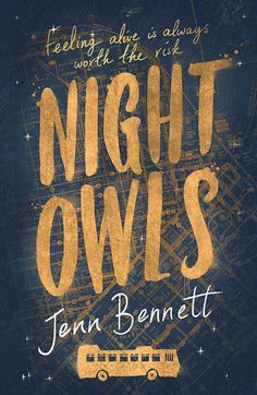 Book cover by Leo Nickolls | Night Owls by Jenn Bennett