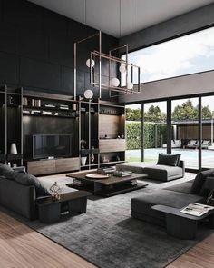 Home Decoration Design .Home Decoration Design Interior Design Living Room, Living Room Designs, Living Room Decor, Living Room Goals, Cozy Living Rooms, Interior Paint, Apartment Living, Loft Design, Modern House Design