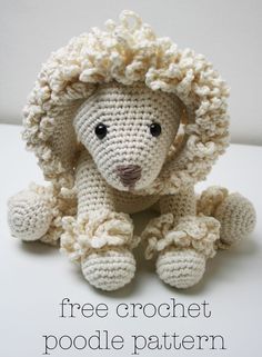 Free Crochet Poodle Pattern