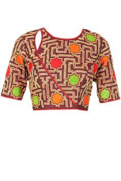 Nachiket Barve blouse