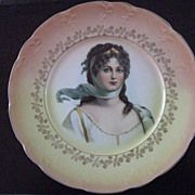 Lovely Portrait Plate