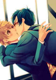 Rei & Nagisa | Free! #manga #shounen-ai #yaoi! I ship them sooooooo BAD!!!!