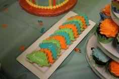 Yummyyyy dinosaur cookies. These were amazing!