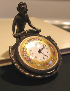 Unusual Antique 1800s Monkey Desk Clock | eBay.  Follow Me:    www.orlandoweddingsinger.com  www.pinterest.com/dowopdave  http://twitter.com/davidfroberts  https://www.facebook.com/pages/David-Roberts-and-the-Sounds-of-Sinatra/271766759522088  http://www.linkedin.com/profile/view?id=50182491  #davidroberts