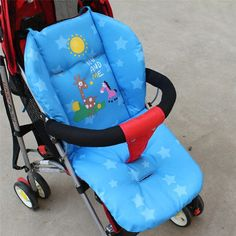 Baby Stroller Cushion Child Cart Seat Cushion Pushchair Cotton Stroller Mat 0-36 Month