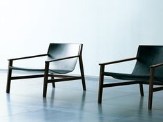 TANNED LEATHER ARMCHAIR WITH ARMRESTS SDRAIO | LIVING DIVANI