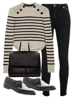 Untitled #19029 by florencia95 on Polyvore featuring polyvore, moda, style, Isabel Marant, Yves Saint Laurent and J.Crew