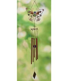Look at this Butterfly Wind Chime on #zulily today!