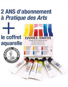 EXCLU WEB : Abonnement PDA + le coffret aquarelle DANIEL SMITH Exclu, White Out, Fine Art Paintings, Casket, Watercolor Painting