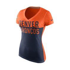 ff58ef489 Denver Broncos Nike Women s Salute to Service Performance 3 4-Sleeve ...