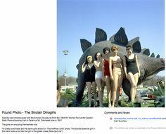 """Sinclair """"Dinoland"""" Souvenir Postcards"""