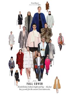 Fall 2013 Trend Report : Fall 2013 Trend Report: Full Cover #27 - Elle Canada : Today