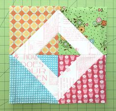 My Flower Box Quilt Block Tutorial and Sew Along!!!