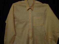 Vintage shirt. Cream. XXL. by vintagewayoflife on Etsy, $35.00