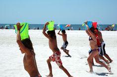 Coast360 Beach Games! Event: Bucket Ruckus