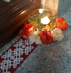 Mandir Decoration, Diwali Craft, Kolam Designs, Diwali Decorations, Bricks, Beautiful Flowers, Things To Do, Presentation, Collections
