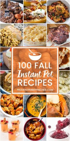 You can't go wrong with an Instant Pot. You can make everything from breakfast all the way through to dessert with your Instant Pot. Check out this great roundup of healthy Instant Pot recipes that make life so much easier! Fall Crockpot Recipes, Fall Dinner Recipes, Instant Pot Dinner Recipes, Healthy Recipes, Instant Recipes, Dinner Ideas, Thanksgiving Recipes, Easy Recipes, Thanksgiving Baking