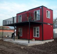 Container House - Home Made From Shipping Containers (Dunway Enterprises) clickbank. More - Who Else Wants Simple Step-By-Step Plans To Design And Build A Container Home From Scratch? Container Home Designs, Shipping Container Design, Cargo Container Homes, Building A Container Home, Container Cabin, Storage Container Homes, Container Buildings, Container Architecture, Container House Plans