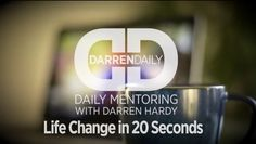 "Eleanor Roosevelt said, ""Do something every day that scares you."" Darren Hardy, Publisher of Success Magazine says, it takes only 20 seconds to conquer your fear, check this quick video out... Life Change in 20 Seconds, then run toward your fear."