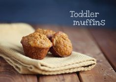 Healthy Muffin Recipe for Toddlers