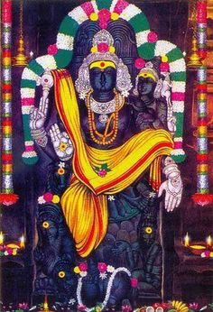 Sri Pallai Kondeeswarar Temple in Suruttappalli, Andra Pradesh. It is the only temple where Lord Dakshinamurthy graces with his consort mother Dhara. Devotees who worship Lord Dakshinamurthy here on thursday will be blessed with double benefit. Lord Murugan Wallpapers, Lord Vishnu Wallpapers, Shiva Yoga, Shiva Shakti, Om Namah Shivaya, Shiva Art, Hindu Art, Indian Gods, Indian Art