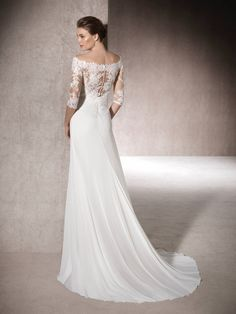 Flared wedding dress Mica