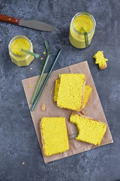 Aquafaba, Cornbread, Latte, Muffin, Pudding, Ethnic Recipes, Food, Millet Bread, Custard Pudding
