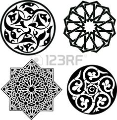 Islamic ornament pattern Фото со стока