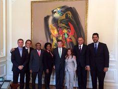 Santos, el General Palomino y alcaldes del país, hablan hoy sobre seguridad :: Rosita Estéreo