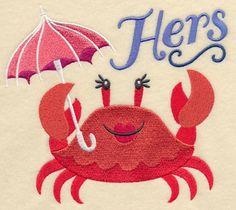 Splish Splash Crab - Hers