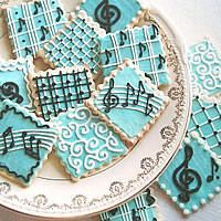 Musical Food :: Music-Themed Party Cookies