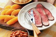 London broil is not a cut of beef, but instead a way to prepare it. London broil is usually made with a top round steak, but can also be done with flank steak, or sirloin steak. The secrets to a great London broil are a flavorful marinade and being sliced thinly against the grain. Leftover London broil makes great cold roast beef sandwiches.