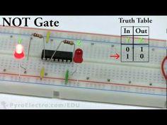 ▶ Logic Gates - An Introduction To Digital Electronics - PyroEDU - YouTube