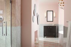 Bathroom Vanity Collection from KOHLER offers a wide range of styles, colors and finishes. Find a solution for your bathroom space. Kohler Vanity, Kohler Bathroom, Bathroom Vanities, Modern Bathtub, Modern Bathroom, Stand Alone Tub, Elle Decor, Beautiful Interiors, Bathroom Designs