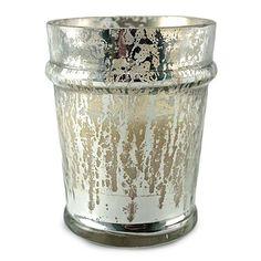 Capri Blue Candle Blue Jean Mercury Glass
