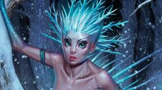 Watch how Sara Forlenza sprinkles a generous helping of fairy dust on her icy princess.