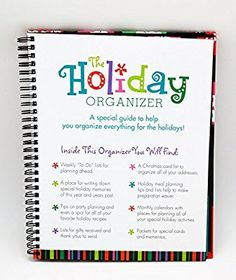Christmas Holiday Organizer Planner and Memories