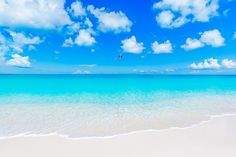The beautiful Grace Bay Beach, Providenciales, Turks and Caicos Islands.