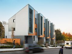 Housing Design - Honor Award: Interface Studio Architects with Urbanica Design for E+//226-232 Highland - Roxbury, Massachusetts. Photo by Photo by Sam Oberter Photography; ISA; Urbanica.