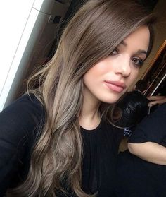 Image result for ash brown hair with highlights