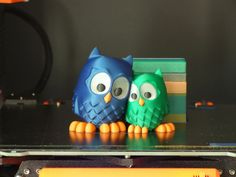Multimaterial owls by Roman Týr  #toysandgames #mmu2