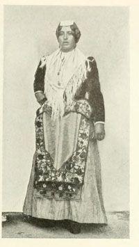 Campania folk costume