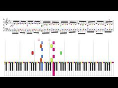 ▶ J.S. Bach : Prelude 2 : Well Tempered Clavier : Color Wheel Theory and Music Circle of Fifths (5ths) - YouTube